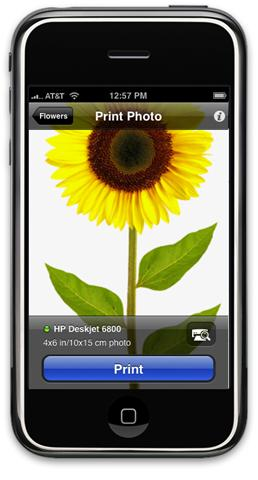 Iphone HP IPrint
