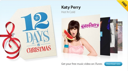 Itunes 12 days of Christmas Promotion