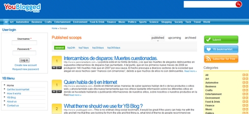 YouBlogged