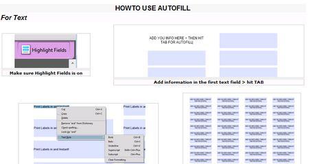 AutofillPDF-Labels