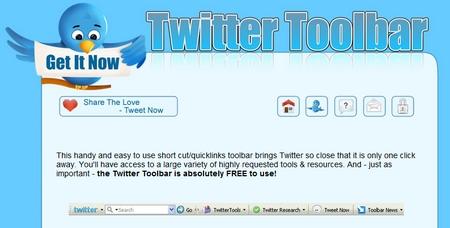 Twitter Toolbar