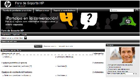 HP Foro de ayuda en Español
