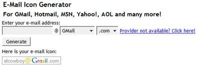 Nexodyne Email Icon Generator