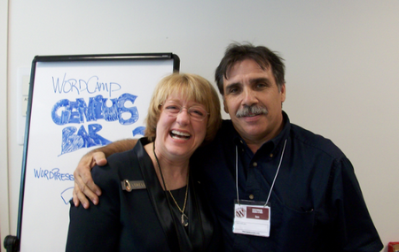 Wordcamp Dallas  2009 - Lorelle and Hector