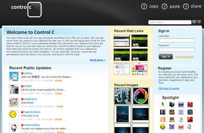 Control C
