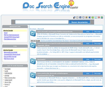 Doc Search Engine