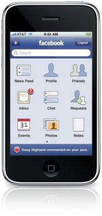 Iphone Facebook 3.0