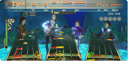 The Beatles Rock Band - The songs