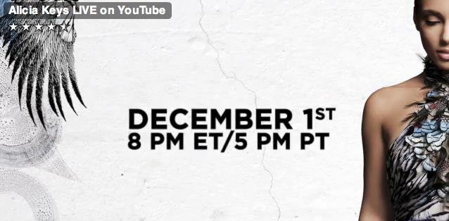 Alicia Keys Live on youtube