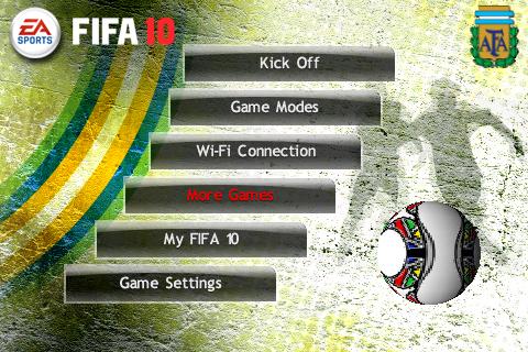 FIFA 2010 IPHONE