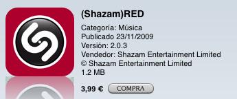 Shazam-red