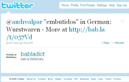 bab.la twitt
