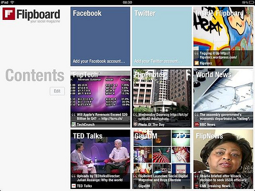Flipboard - iPad App of the Year 2010