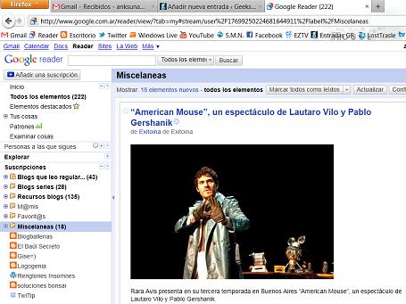 Reader Firefox 4RC