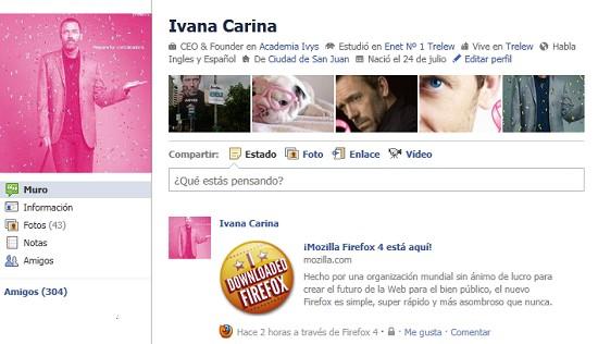 Insignia Facebook Ivy