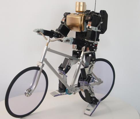robot ciclista