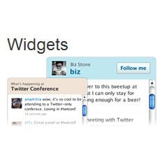 Recursos de Twitter para tu blog o Página Web