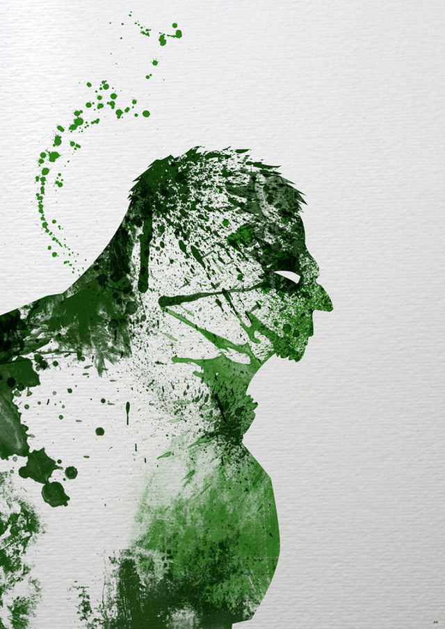 Splatter Paint Superheroes Artist