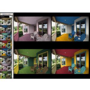 cuando te enfrentas a la tarea de decidir los colores para pintar las paredes de tu casa lo ms prctico es utilizar un simulador de colores
