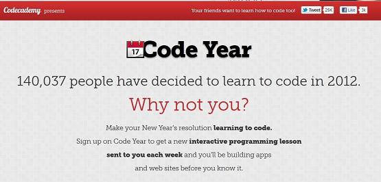 Aprendiendo a programar con Codeacademy – #CodeYear