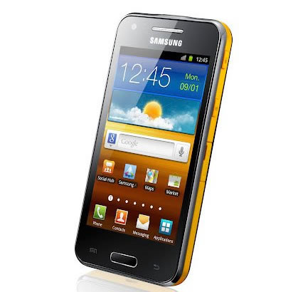 Mwc 2012 samsung beam un modelo de smartphone con for Samsung beam smartphone