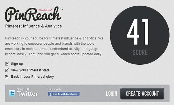 PinReach, antes PinClout, mide tu influencia en Pinterest