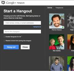 Las videoconferencias de Gmail se transforman en  Google+ Hangouts