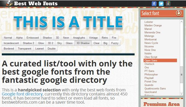 best-web-fonts