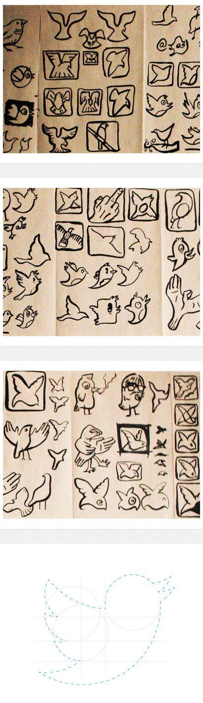twitter-logo-sketches
