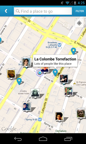 foursquare-map-android
