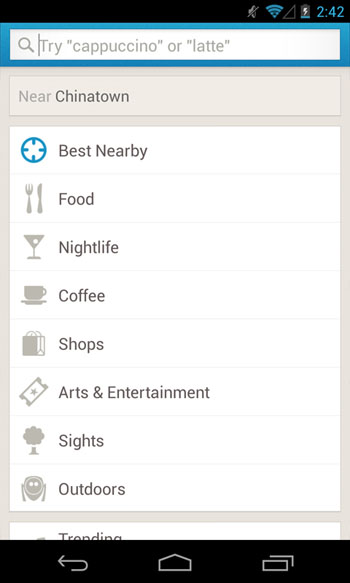 foursquare-search-android