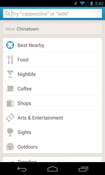 foursquare-search-android