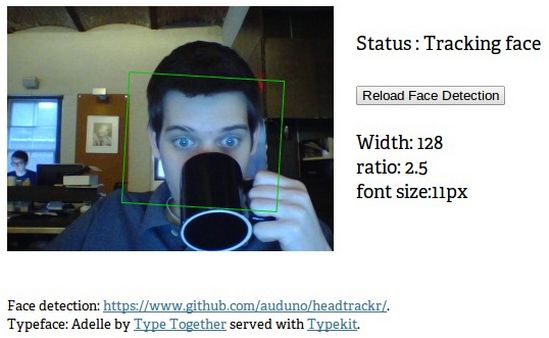 realtime-responsive-typography