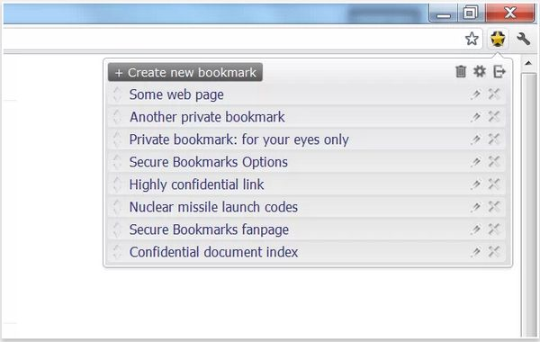 secure-bookmarks-chrome