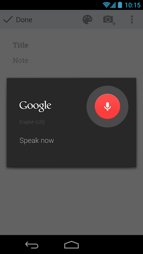 google-keep-voice