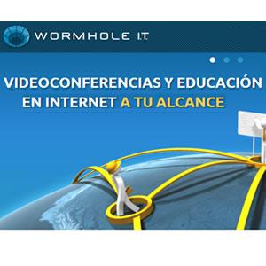 Wormhole IT : Plataforma de Video Conferencias y educación a distancia