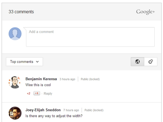 google-comments-wordpress