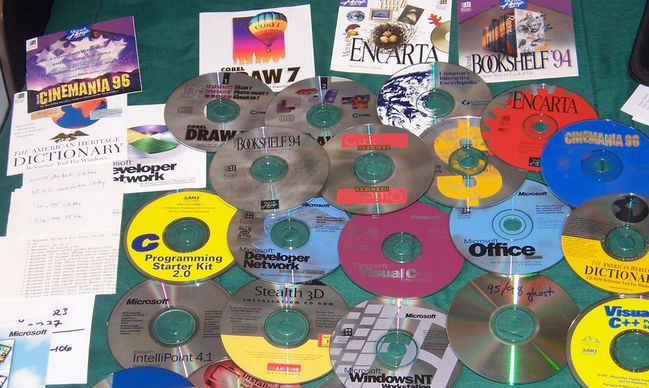 old-cd-software