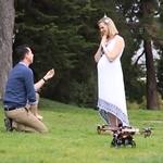 Una forma muy Geek y romántica de proponer matrimonio a su novia con un Drone