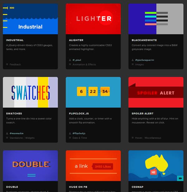Unheap.com : Espectacular repositorio de plugins jQuery