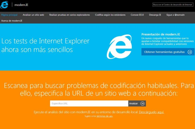 Geeks Room 002 - Modern.IE, para que tu sitio sea compatible con Internet Explorer