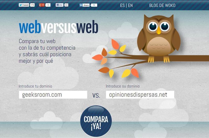 Geeks Room 003 - Webversusweb, para mejorar tu web compárala primero