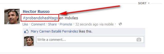 facebook-hashtags-móviles