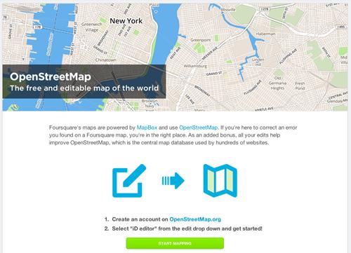 foursquare-openstreetmap