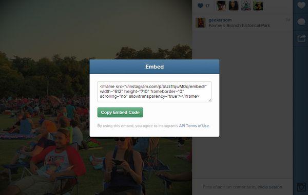 instagram-compartir-codigo