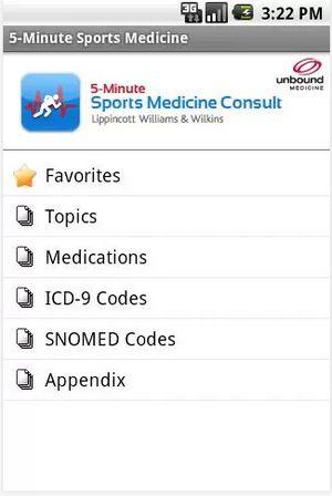 5-minutes-sport-medicine-android