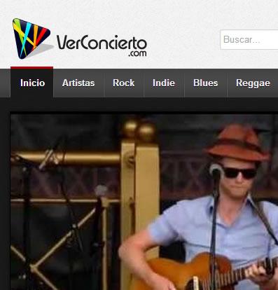VerConcierto.com Para encontrar conciertos completos de tus artistas favoritos