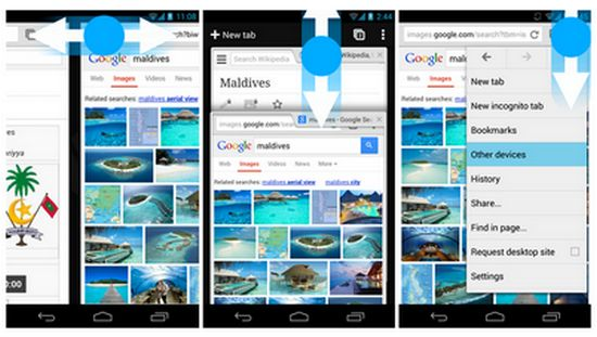 android-gestures
