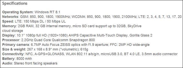 nokia-lumia-2520-specs