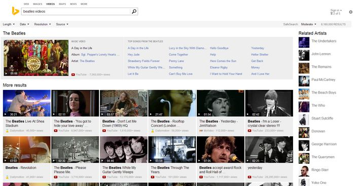 bing-music-video-search
